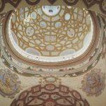 Kościół Św. Anny - widok na kopułę wewnątrz